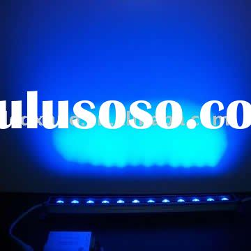 colorfull high power ultra thin exterior led wall panel light
