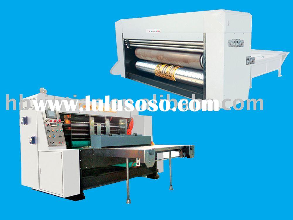 corrugated carton machinery/rotary die cutter/packaging machinery/package machinery