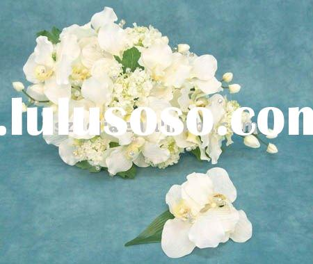 decorative artificial white flower ball, high quality, reasonable price, convenience transport ion,