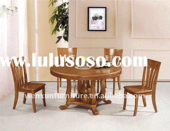 dining table and dining chair round table