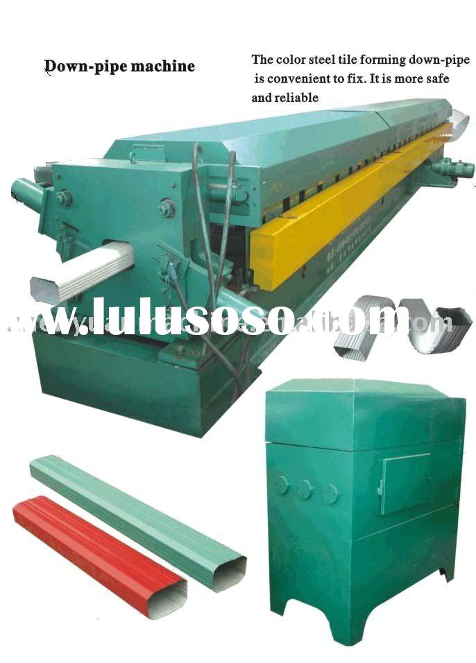 down pipe machine,water down pipe roll forming machine,water falling tube forming machine
