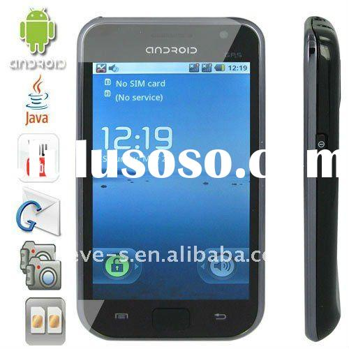 dual sim android gps mobile phone a9000