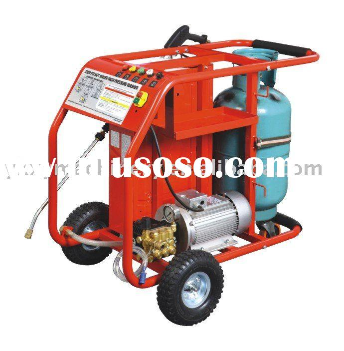 electric motor hot water high pressure washer