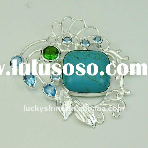fashion 925 silver pendant jewelry accessories