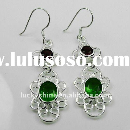 fashion earring silver jewelry accessories wholesale