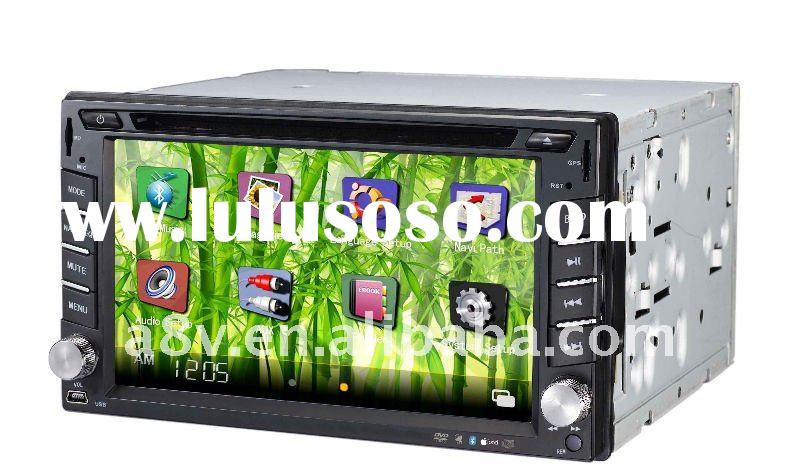 fashion model 6.2 inch touch screen car dvd gps player