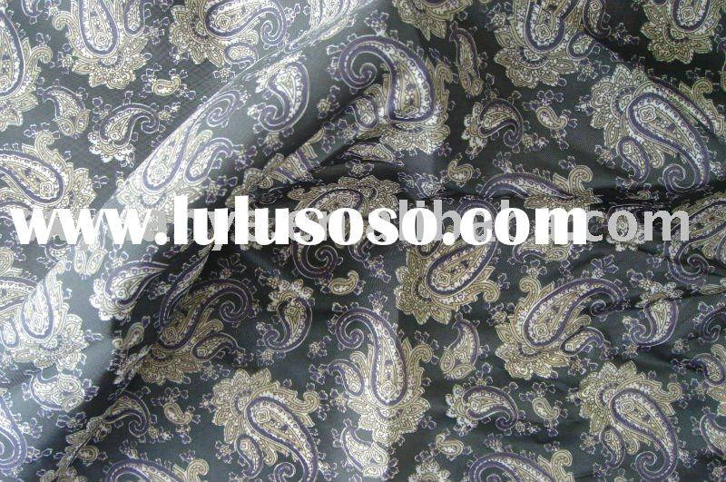 fashion paisley printed design--poly taffeta lining