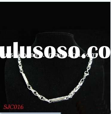 fashion stainless steel chain jewelry