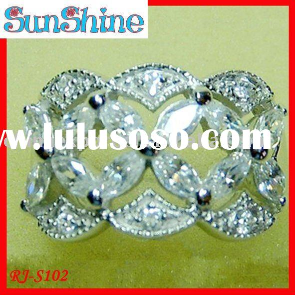 fashion trend 925 sterling silver ring,more design,