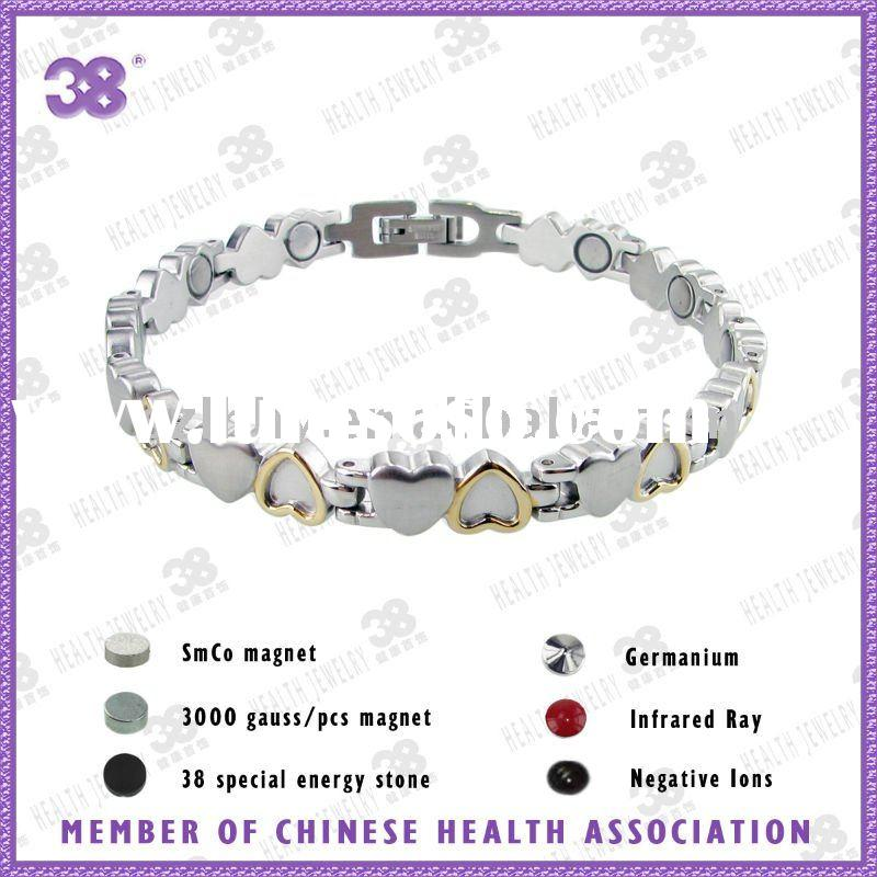 fashion wholesales magnetic stainless steel bracelet jewelry thailand