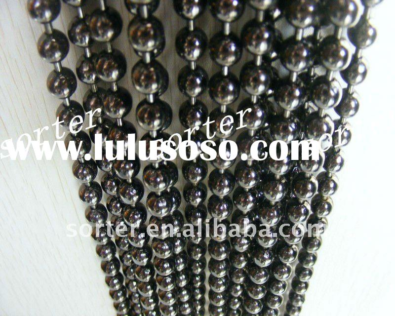 fashionable decorative metal bead curtain/ ball chain screens