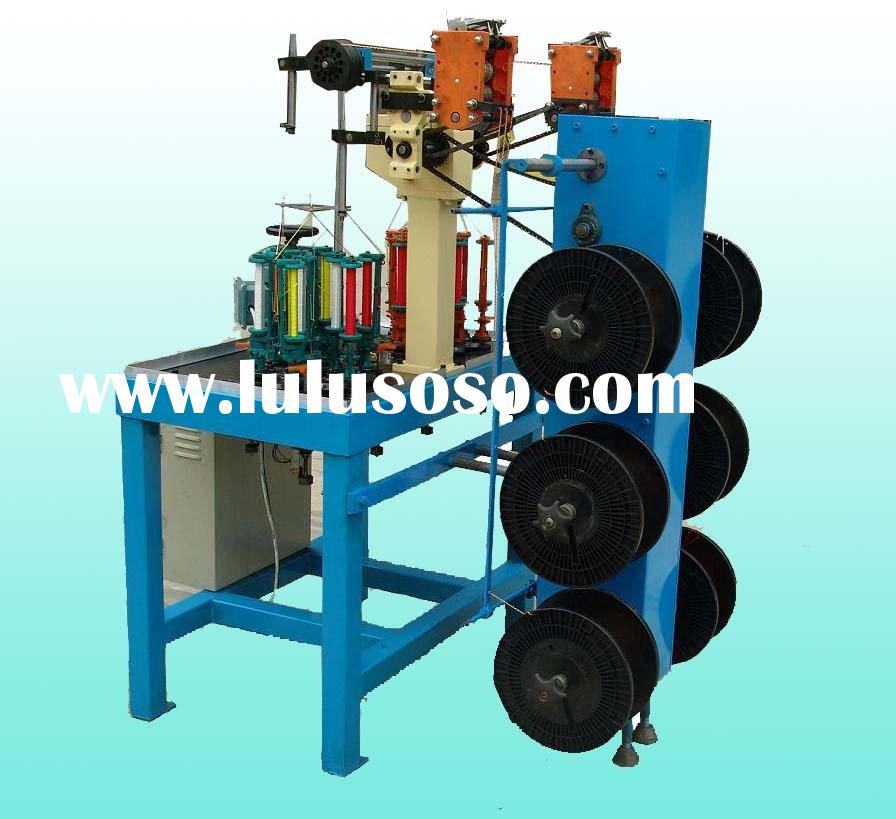 fish line braiding machinery