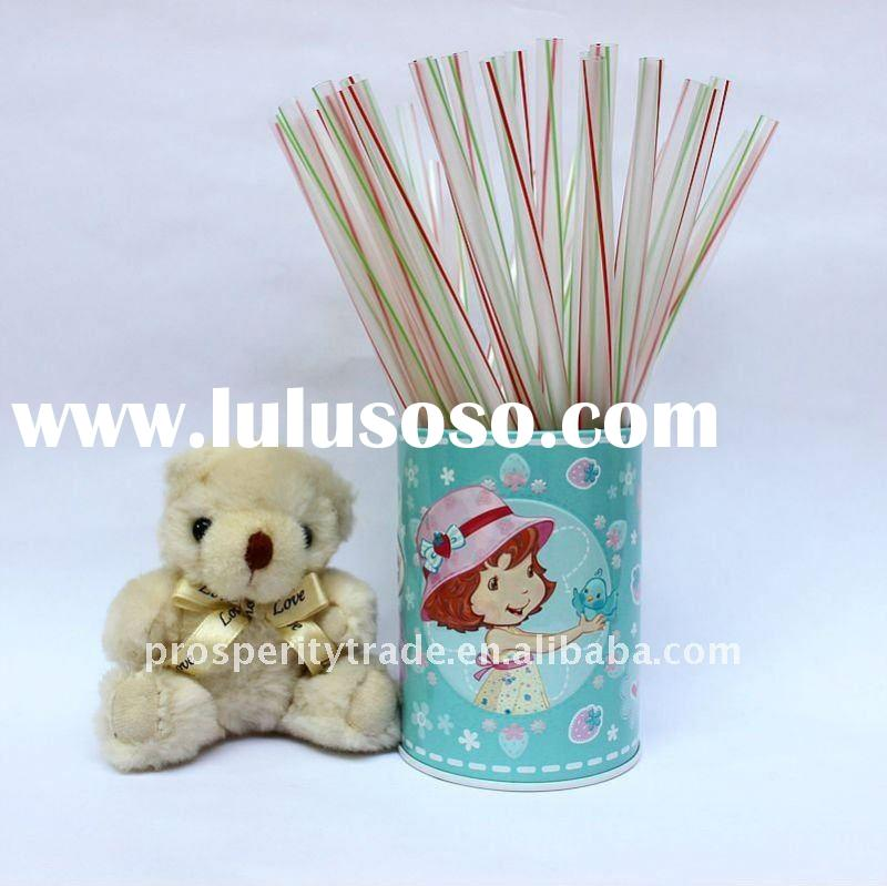 flexible drinking straw paper wrapped
