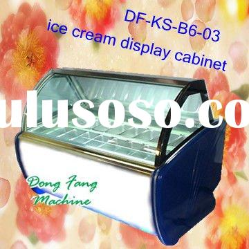 food display cabinet,refrigerated display cabinet, ice cream display cabinet
