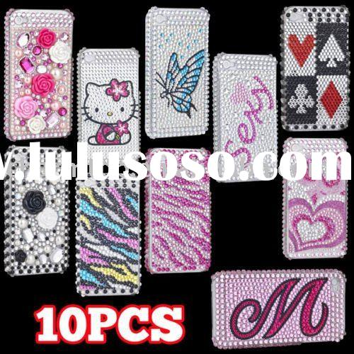 for iPhone 4G Bling Cell Phone Cover