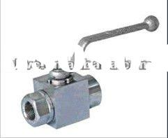 forged high-pressure forged ball valve