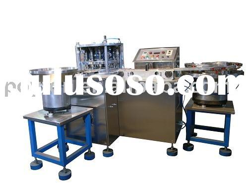fully auto rubber stopper and plastic cap Lamination machine for Vacuum blood collection machine