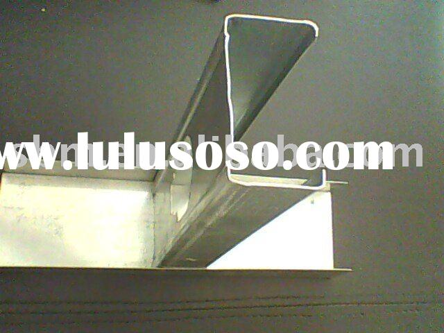 galvanized steel stud and track for wall partition