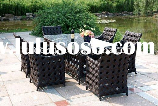 garden table and chairs rattan outdoor furniture