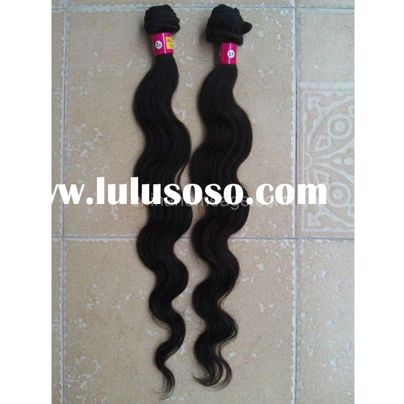 good thick top quality peruvian human hair weft