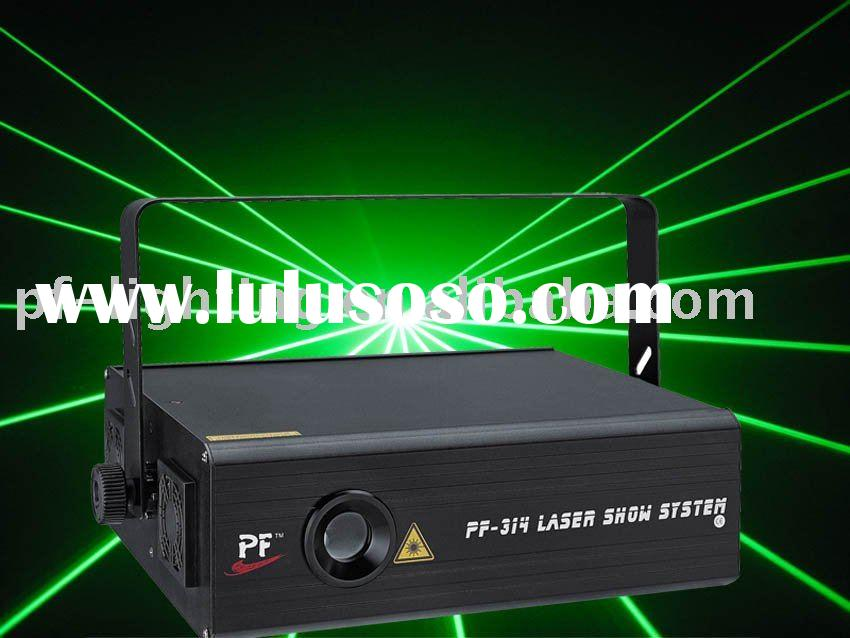 green animation outdoor laser light with ILDA interface,accept paypal