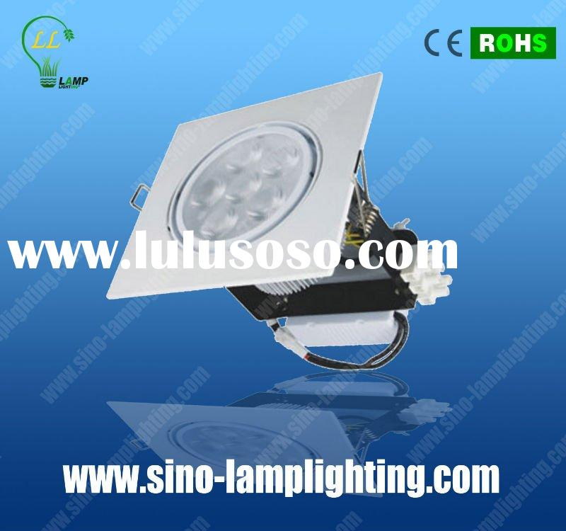 high power square recessed downlight