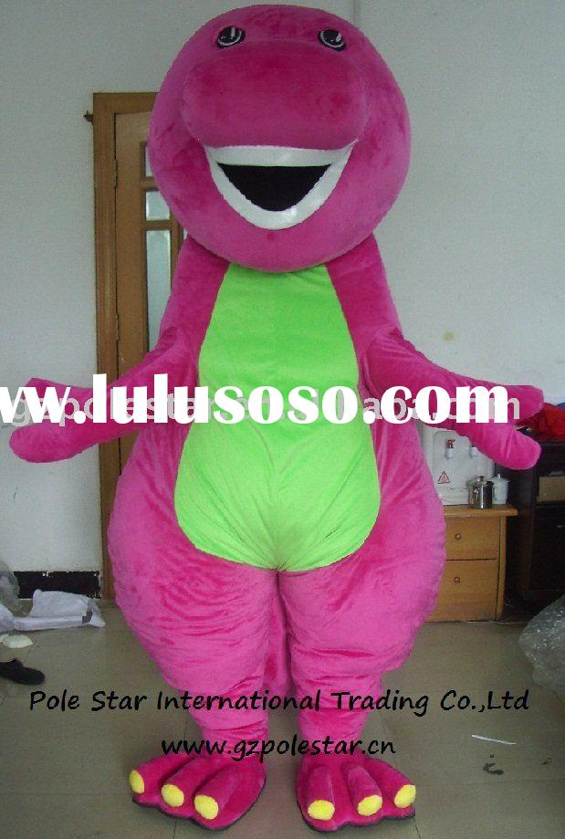 high quality barney costumes