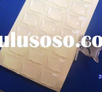 high quality clear resin sticker