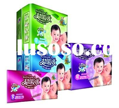 high quality disposable baby cloth diapers