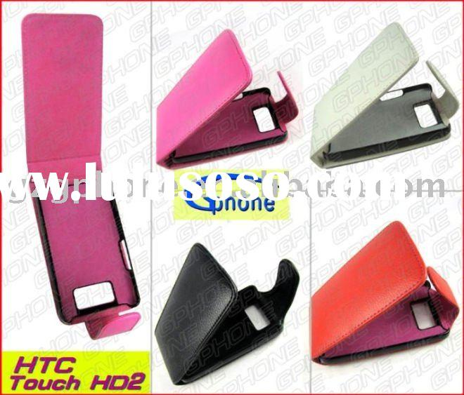 high quality mobile phone leather case for HTC