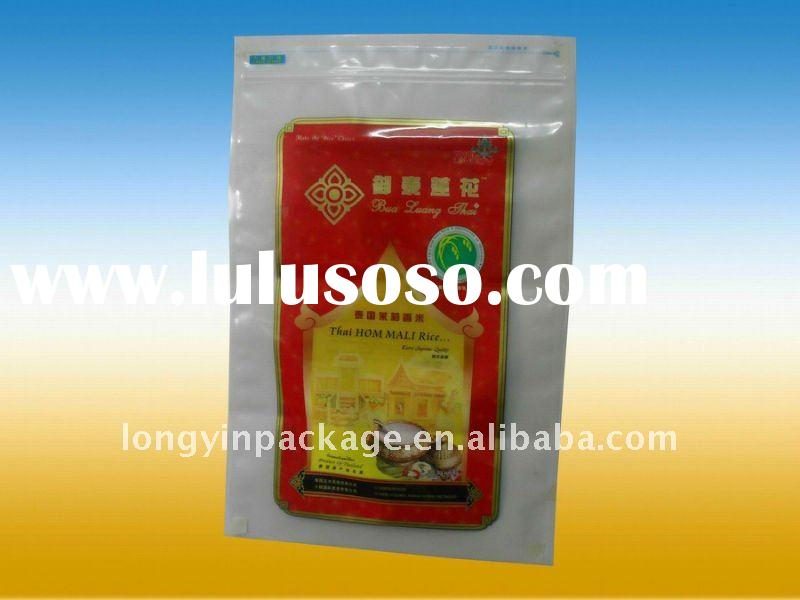 high quality nylon vacuum rice packaging bag/PA 1kg 2kg 5kg rice bag