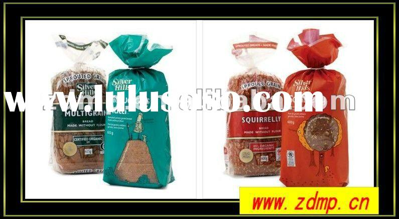 high quality plastic bread packaging