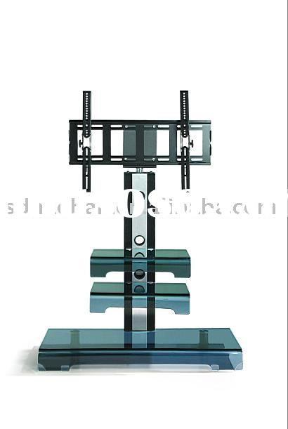 high quality tempered glass TV stand A333