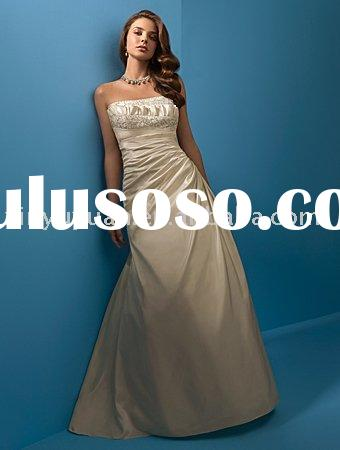 informal and discount plus size custom wedding dresses AAW-114