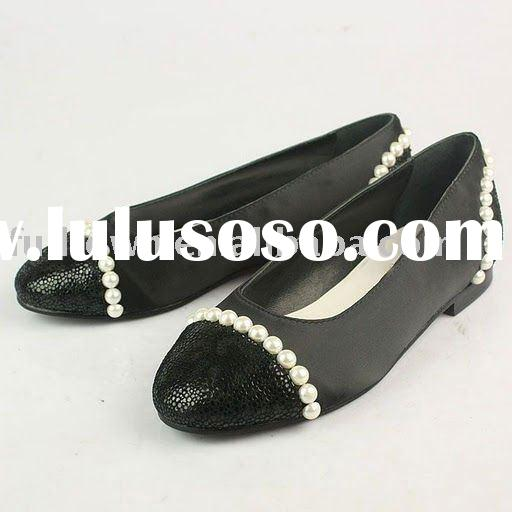 ladies high quality shoes, new fashion sandals,brand flat sandals