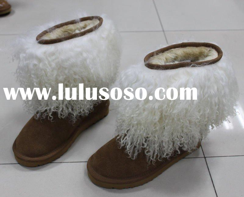 lady's fashion new winter fur boots 2011
