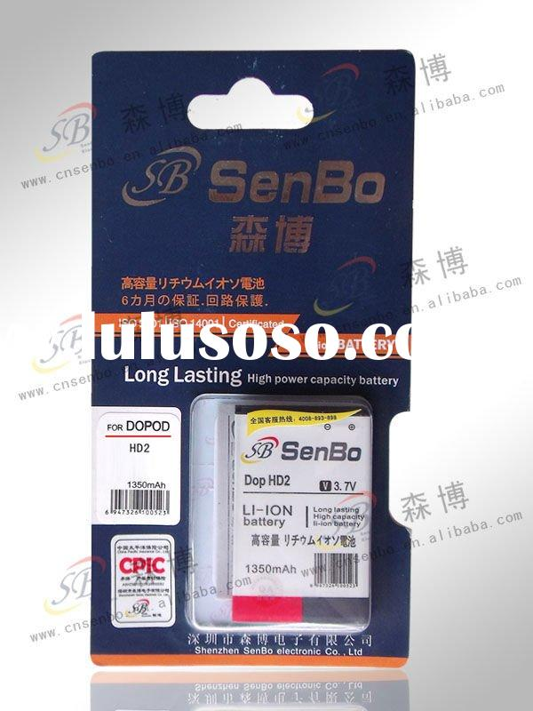 lithium polymer battery for HTC HD2