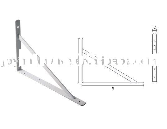 metal Heavy duty shelf bracket