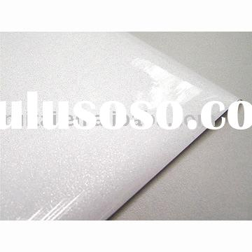 metalized vacuum film/pvc laminated sheet/high gloss pvc sheet