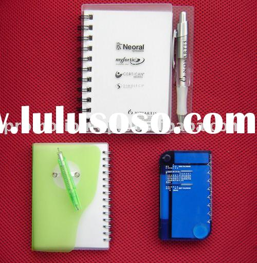 mini gift promotion notepad pocket hard cover spiral notebook