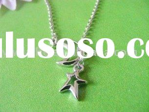 moon and star pendants/fashion pendant/necklace/costume jewelry