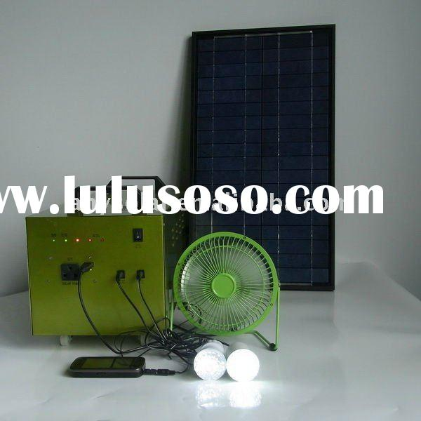 multi-functional 80W solar energy system for house