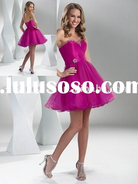 new short prom dress evening gown 2011 WZ1690