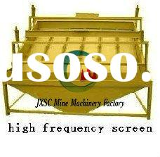 ore sieve equipment high frequency vibrating screen