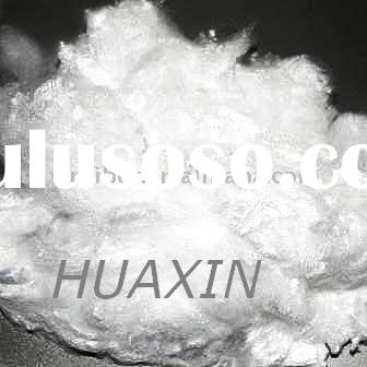 polyester staple fiber(PSF) raw white