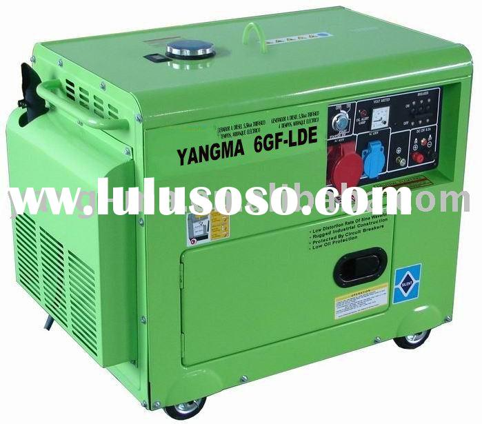 portable yanmar/kipor type air cooled diesel engine power generator set