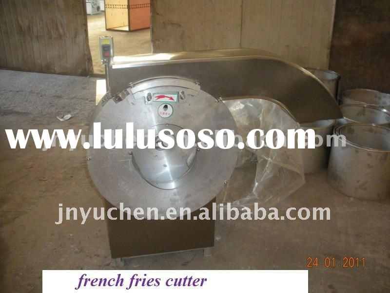 potato cutting machine French Fries production line potato washing peeling cutting machine