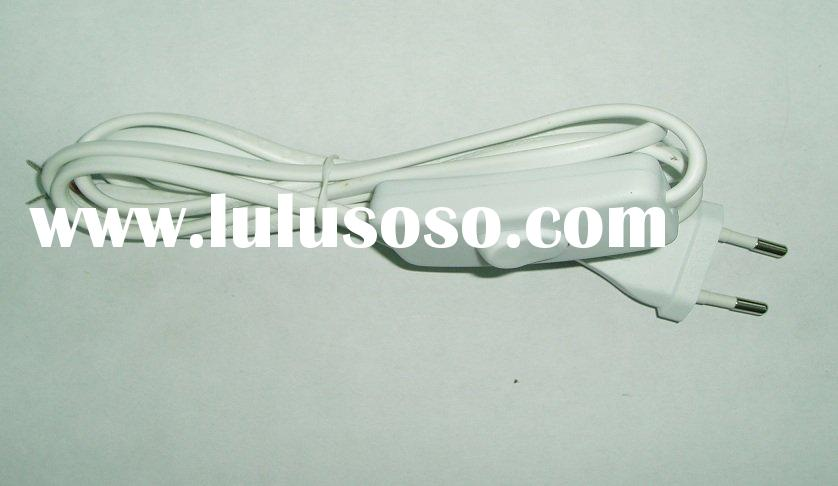 power cord with plug for lamps