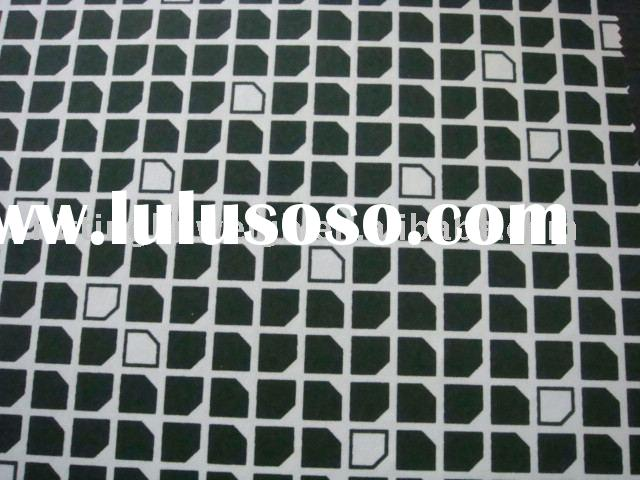 printed fabric/polyester fabric/weft knit fabric