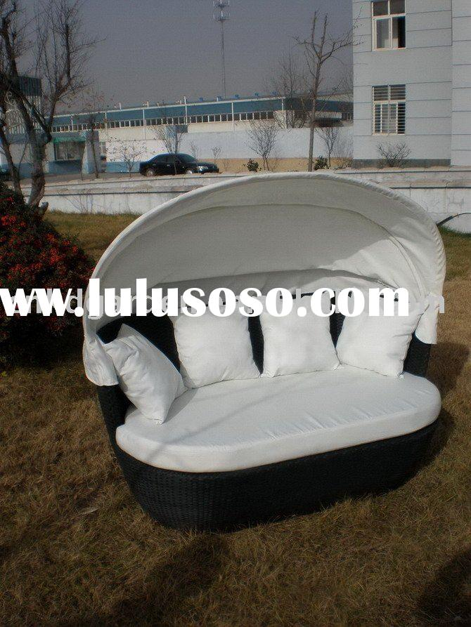 rattan sofa wicker sofa with canopy garden furniture outdoor furniture